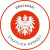 Logo Druckerei staatlich geprüft