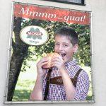 Moser Metzgerei XXL-Werbung