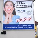XXL Banner Werbehaus